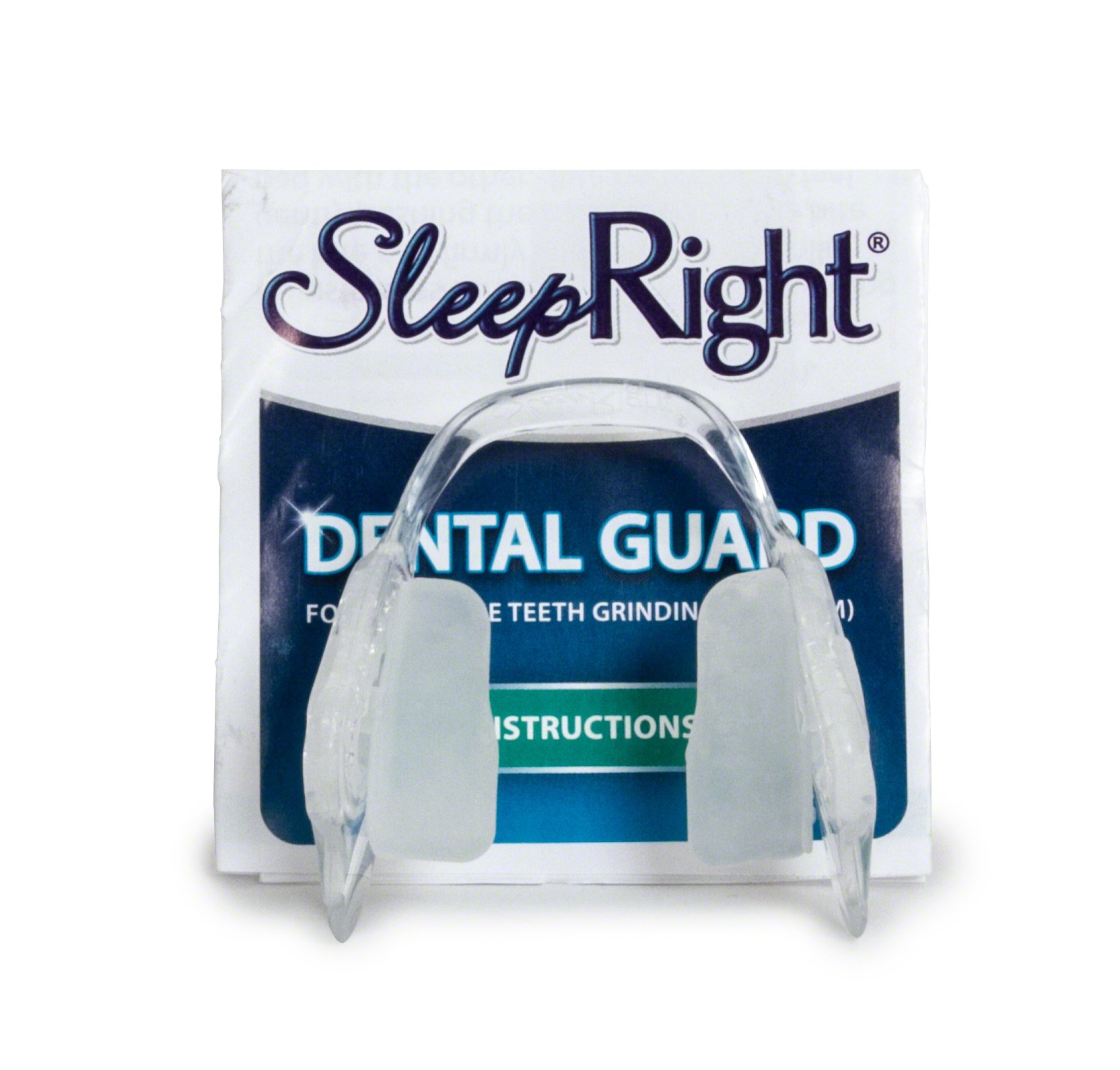 SleepRight Secure-Comfort Dental Guard – Mouth Guard To Prevent Teeth Grinding – SleepRight No Boil Dental Guard by SleepRight (Image #3)