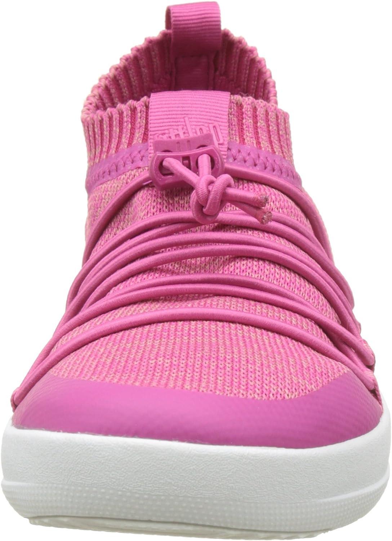 Fitflop dames Uberknit Slip-on Ghillie Sneakers Slip On Trainers Multicolour Fuchsia Dusky Pink