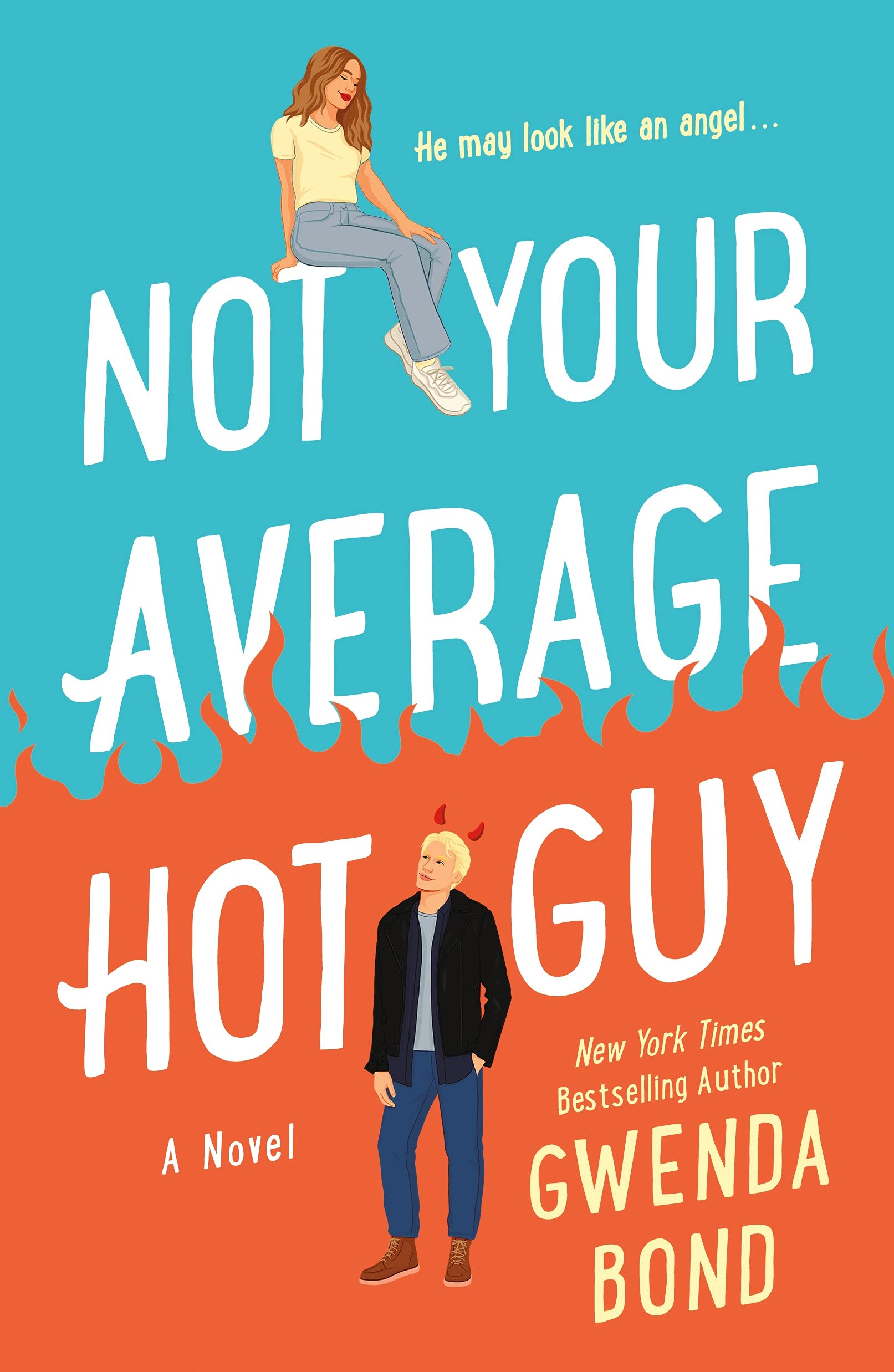 Gwenda Bond: Five Things I Learned Writing Not Your Average Hot Guy