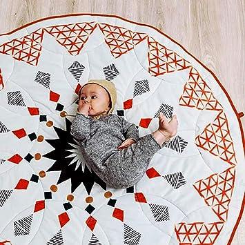 Amazon.com: HILTOW - Alfombrilla de juego para bebé, cojín ...