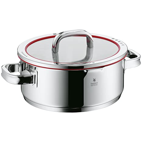Amazon.com: WMF Function 4 Cacerola baja con tapa, 4-Quart ...