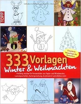 333 Vorlagen Winter Weihnachten Vielfältig Nutzbar Für