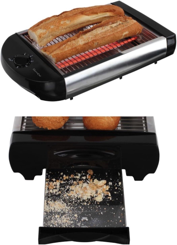 Tostadora plana de pan mesa bandeja de acero inoxidable Tostadora ...