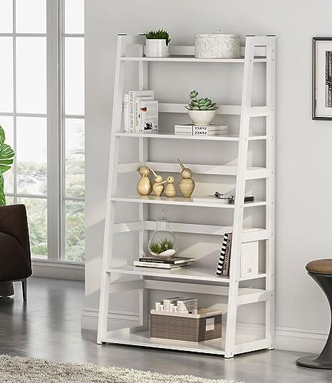 Amazon.com: Tribesigns 5-Tier Ladder Shelf, 5 Shelf Modern ...