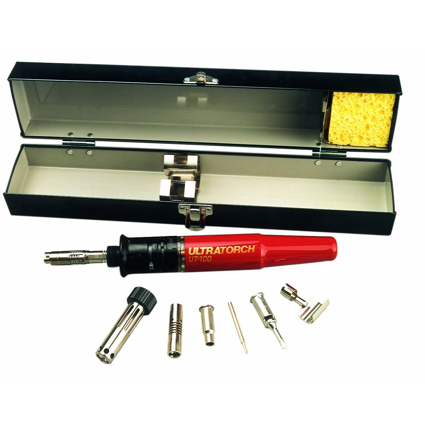 Master Appliance Ultratorch Series 3-in-1 Heat Tool with Metal Storage Case