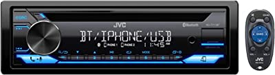 JVC Built-In Bluetooth Dual Phone Connection Car Stereo Player