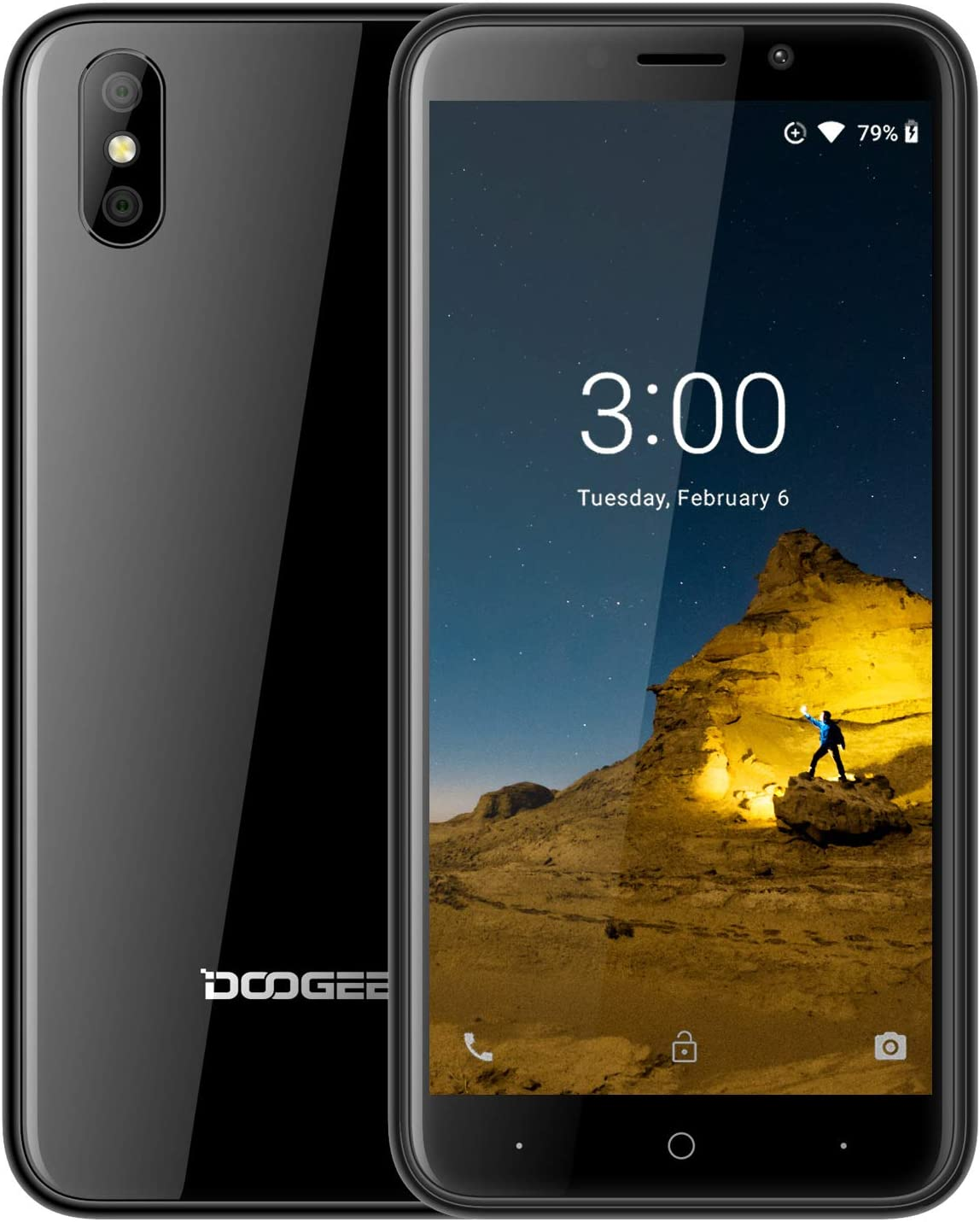 DOOGEE X50 Telefonos Movils Libres, (Android GO) Android 8.1 ...