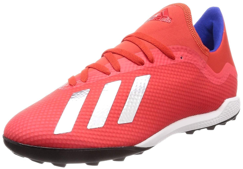 MultiCouleure (Rojact Plamet Azufue 000) adidas X 18.3 TF, Chaussures de Football Homme 40 EU
