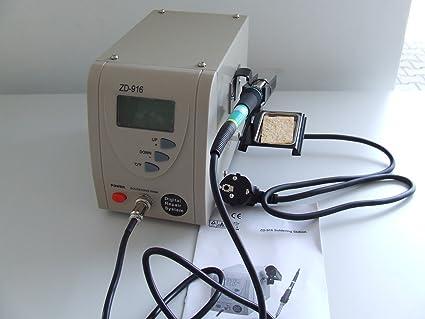 zhongdi ZD de 916 Digital Soldadura Soldador 60 W por microprocesador 160 °C - 480