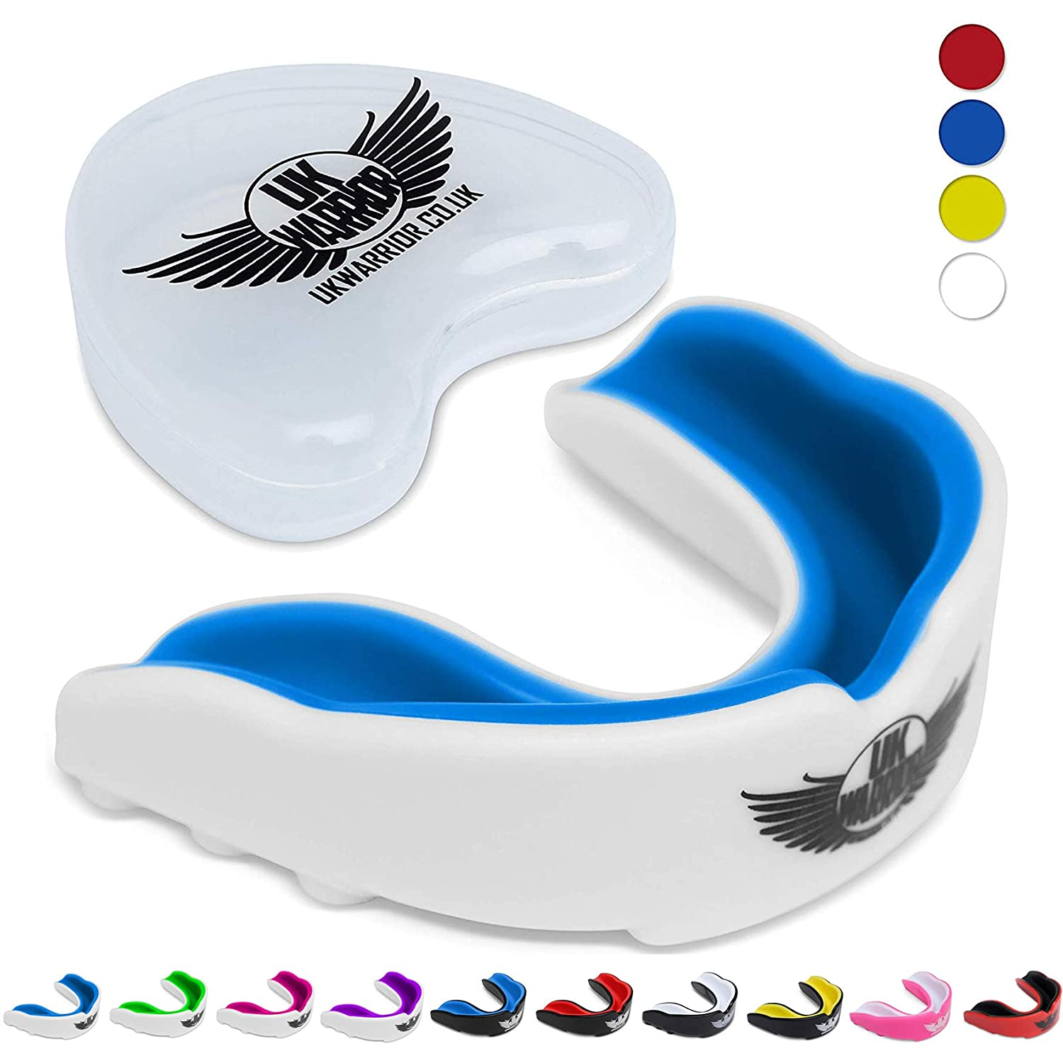 Hot Gel Gum Shield Mouth Guard Kids Junior MMA Boxing Rugby Teeth Protection AM