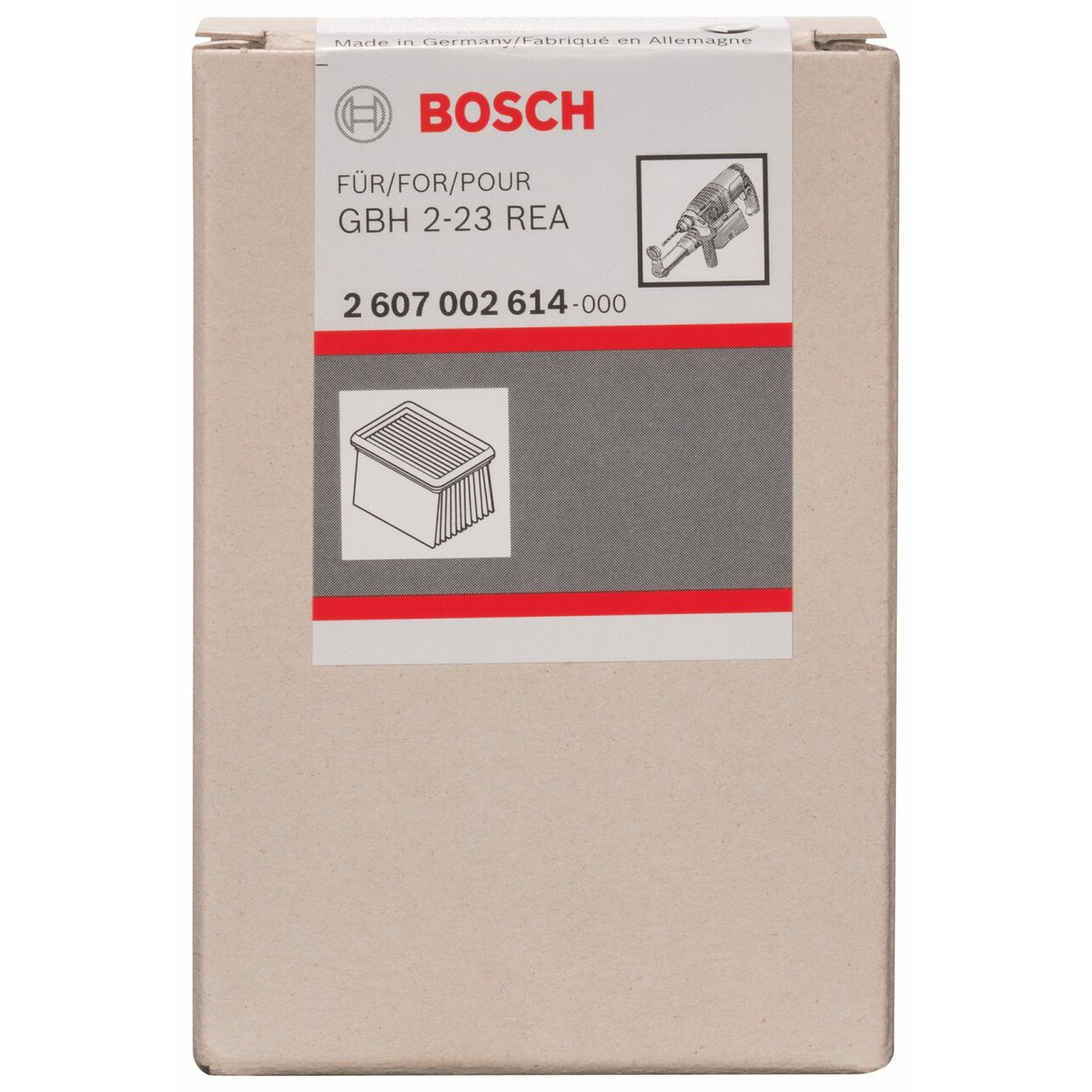 Bosch 2607002614 Filter for Gbh 2-23 Rea Professional by Bosch Professional