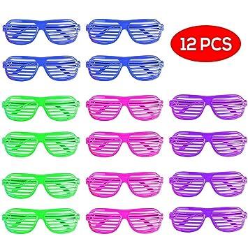 ae805ff37d Bramble Gafas de Sol de persiana para Fiestas. 4 Colores Surtidos. Paquete  DE 12. Perfecto para Niños, Bolsas de Regalo y Fiestas: Amazon.es: Juguetes  y ...