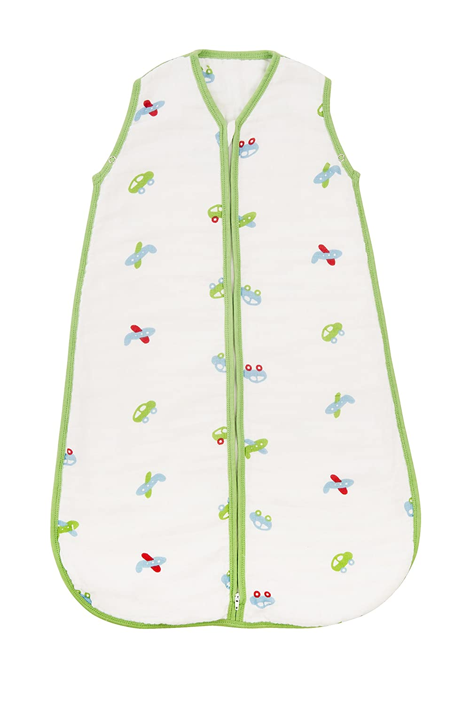 SlumberSafe Muslin Summer Baby Sleeping Bag 0.5 Tog Car 6-18 months A-SM-Cars-05-2