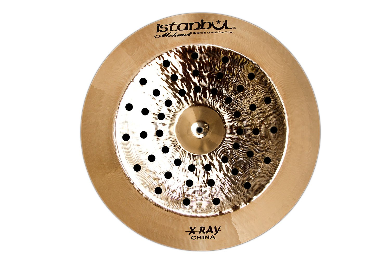 Istanbul Mehmet Cymbals Modern Series X-Ray Multi China Cymbal XRAYM-CH (16