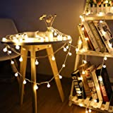 Beetwo Battery Operated String Lights, 33ft 100 LED Globe String Lights Waterproof Fairy Lights with Remote Controller…