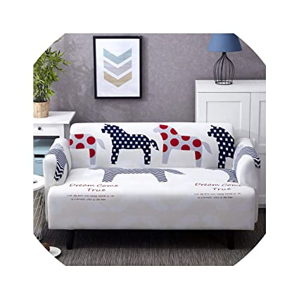 Amazon.com: Sofa Cover Universal Sofa Cover Printed Couch ...