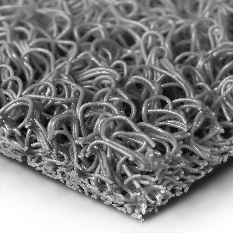 120x700 cm viele Gr/ö/ßen w/ählbar robuste Schmutzfangmatte aus Vinylschlingen Spaghettimatte f/ür den Eingangsbereich braun