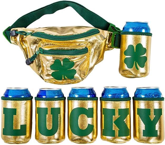 Ireland Irish Love Heart Sport Waist Bag Fanny Pack Adjustable For Hike