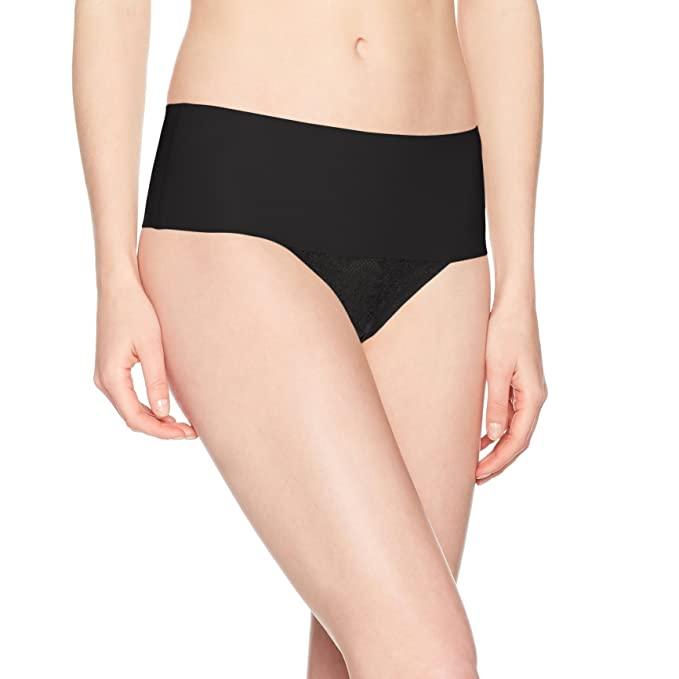 b3b0d08d83ad SPANX Undie-Tectable Lace Thong: Amazon.ca: Clothing & Accessories