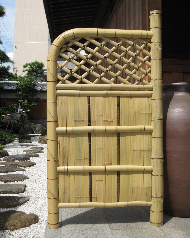 玄関脇のアクセントなどに 袖垣(幅90cm×高さ170cm)※メーカー直送 B01L686GWA 27800