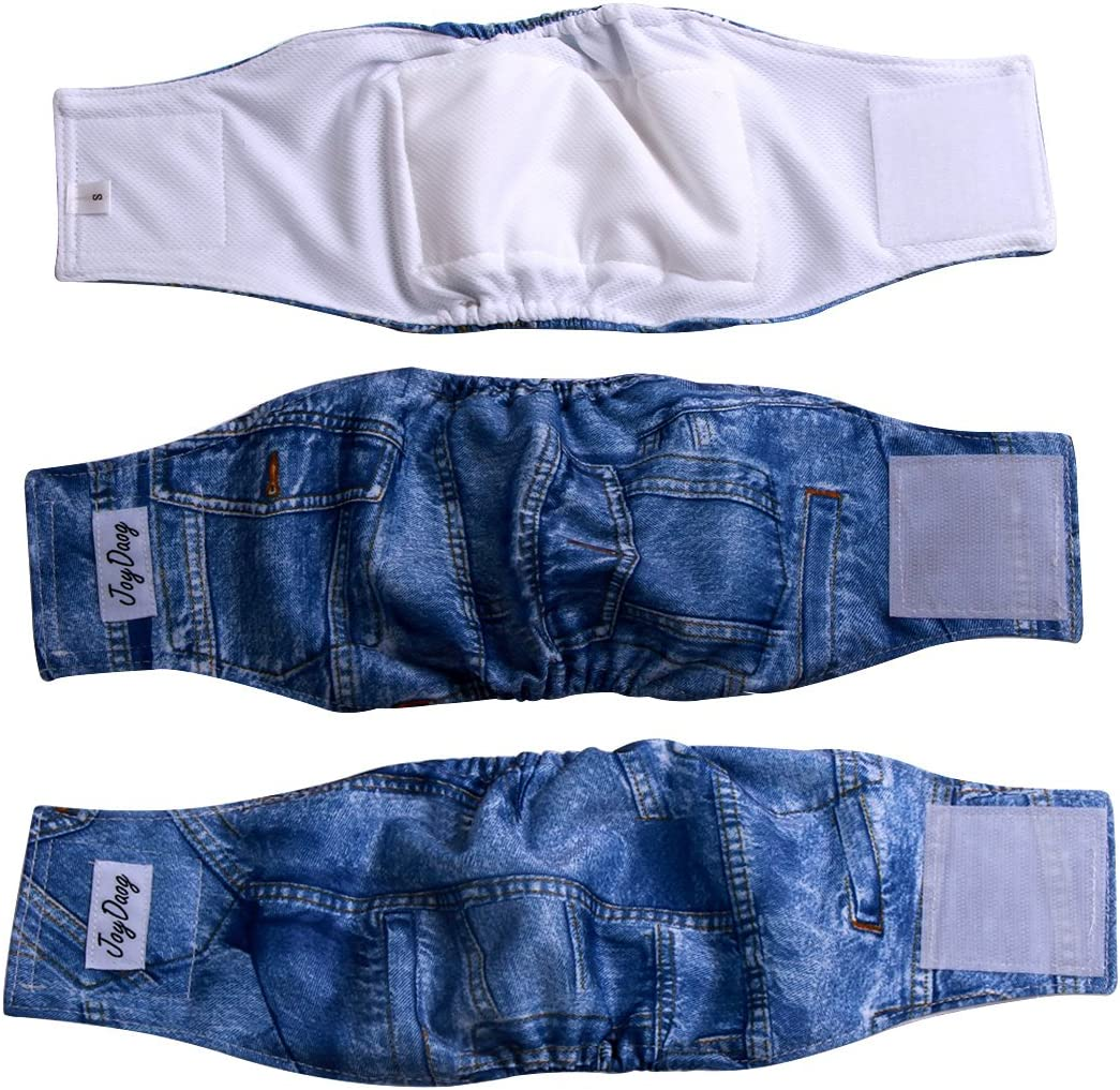 Belly Band Waist 15.25 x Width 3.50 inches Male Dog Wrap Diaper Belt by SewDog 3 Layers Quilted Padded #58 PAWS
