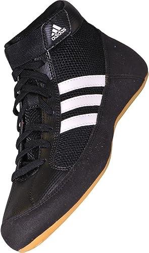 Adidas Havoc K-Lace Wrestling Shoes, Black