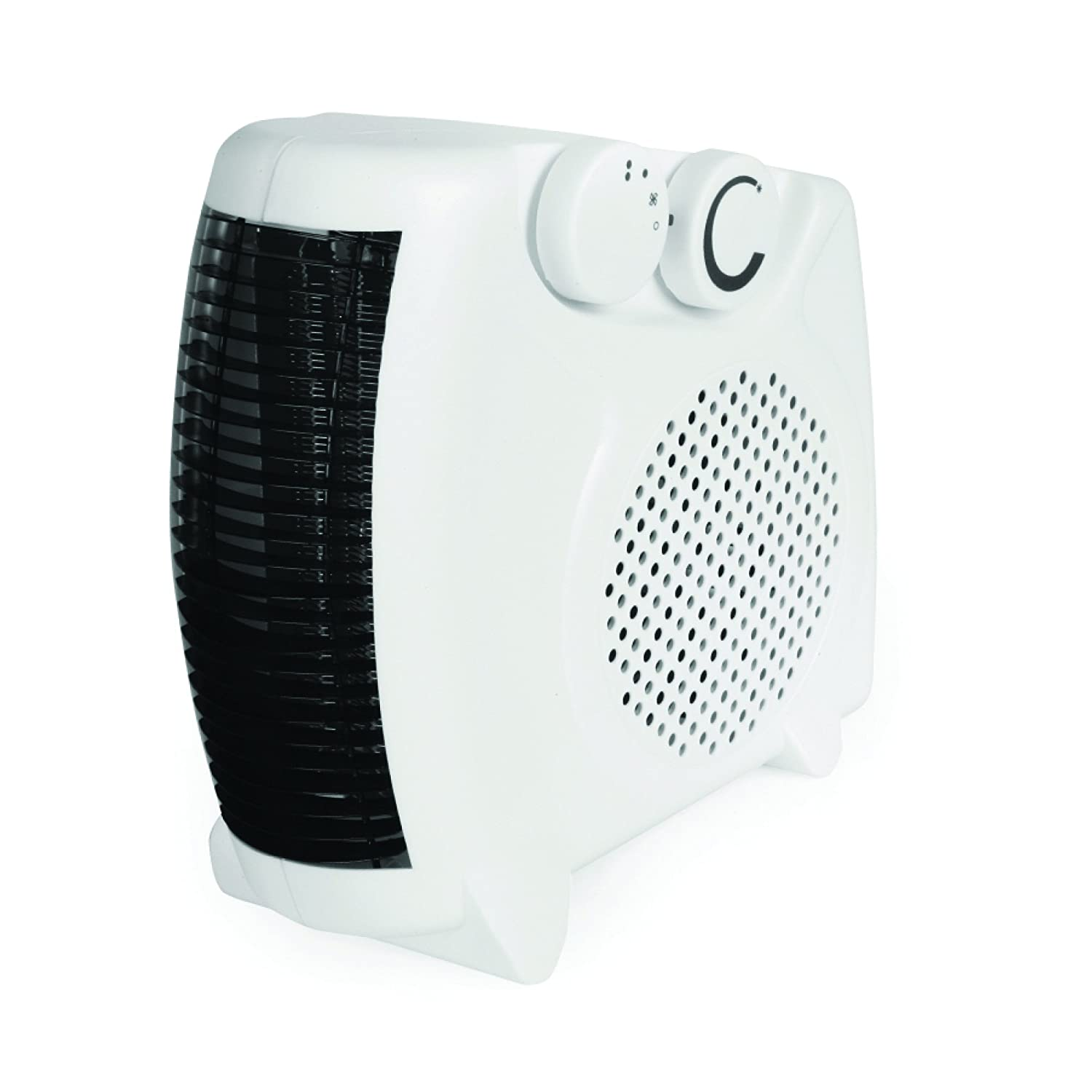 Rhino H02073 2 kW Fan Heater - White
