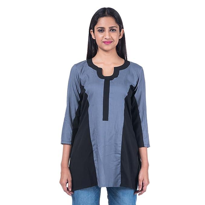 7dbe5fb6ab Mamosa tops for girls new fashion western girls tops stylish Rayon ...