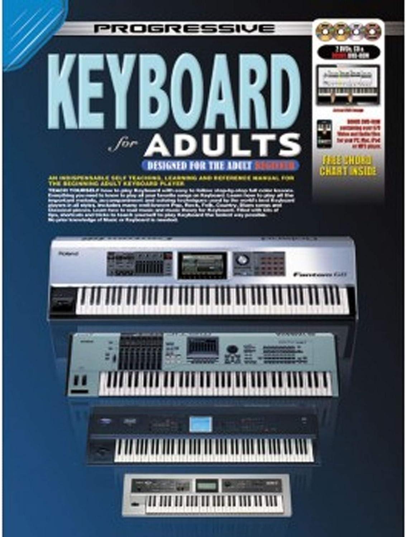 Aprende a jugar piano - teclado para adultos - lecciones de música para principiantes enseña a ti mismo libro de tutores - M7