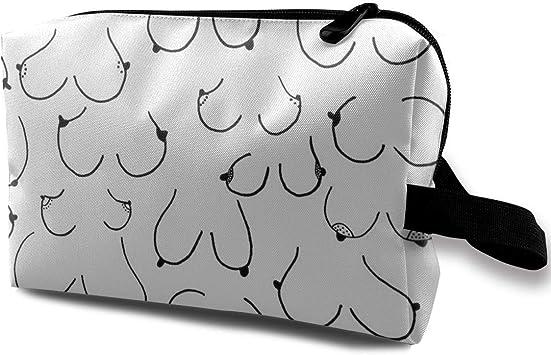 Boobs The Multifunction Breast Bags Trousses de toilette