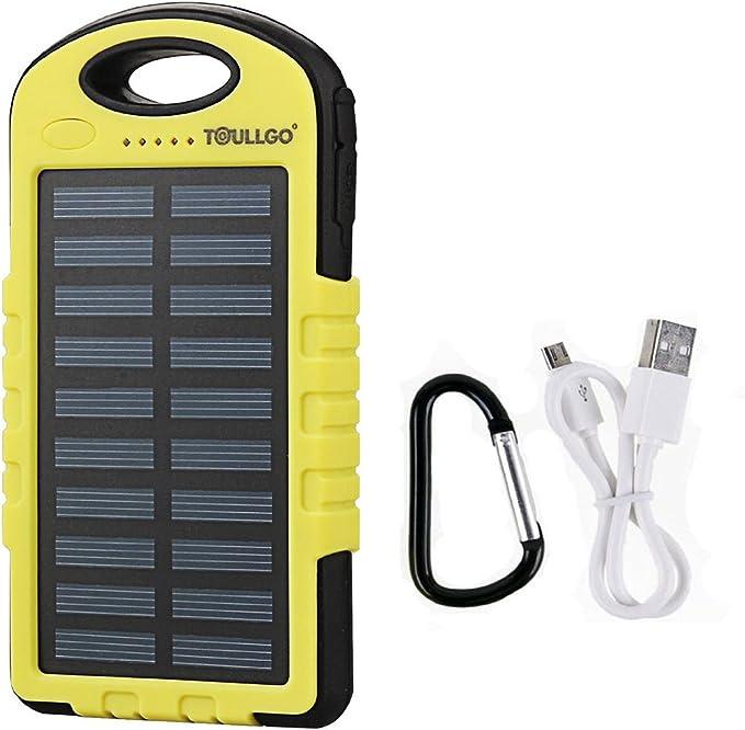 10000mAh Solar Charger Dual USB Port
