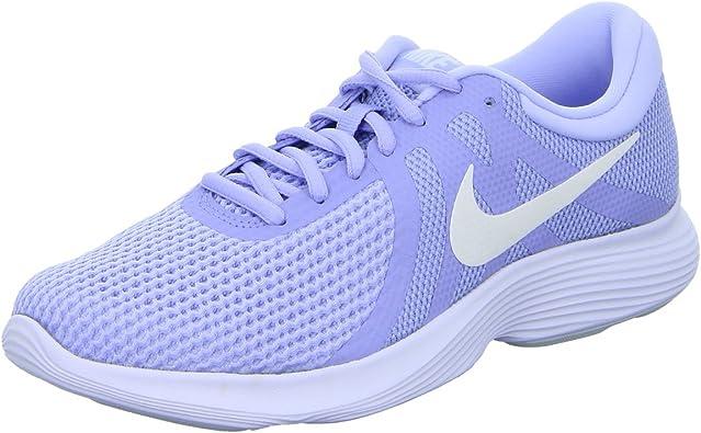 Nike WMNS Revolution 4 EU AJ3491 500 - Zapatillas de running para mujer, color Azul, talla 42 EU: Amazon.es: Zapatos y complementos