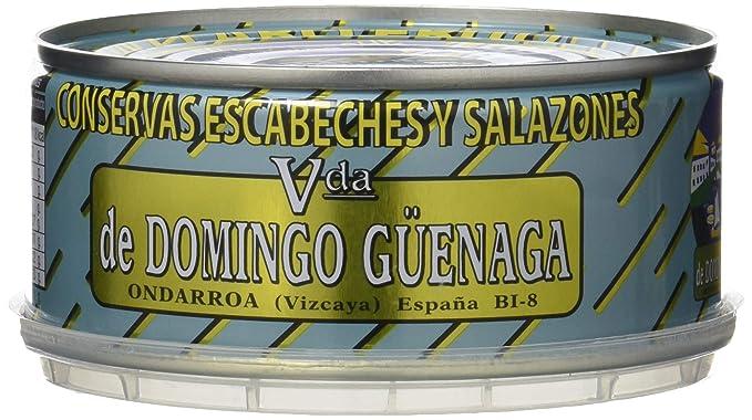 Vda de Domingo Güenaga - Atún claro frito - en escabeche - 180 g