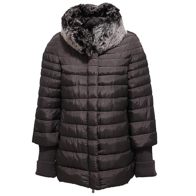 TOY G 0229J Giubbotto Donna Dark Grey Piumino Lungo Jacket