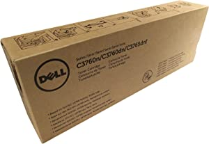 Dell - High Capacity - Yellow - Original - Toner Cartridge - for Dell C3760dn, C3760n, C3765dnf