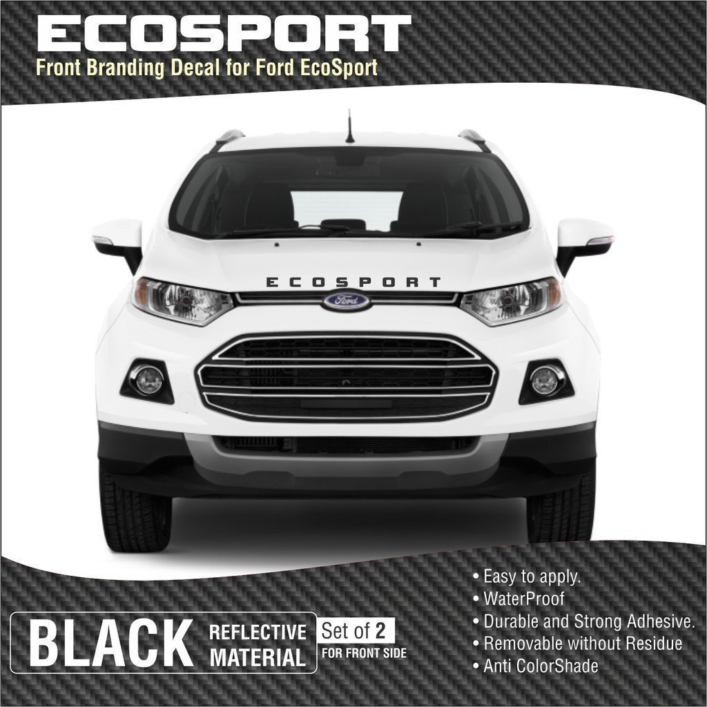 Samritika ventures ecosport front black sticker amazon in car motorbike