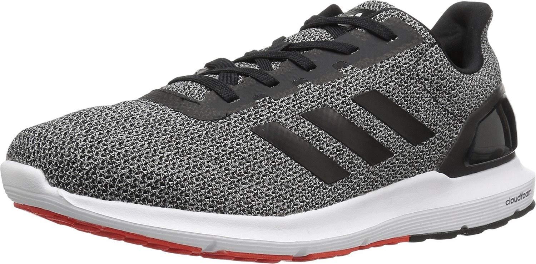 adidas Men's Cosmic 2 Sl m Running Shoe, Black/Black/Core Red, 11 Medium US