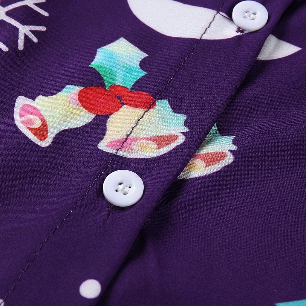 GDJGTA Shirt for Mens Brief World Map 3D Print Long Sleeve Turn-Down Collar T-Shirt Top Blouse