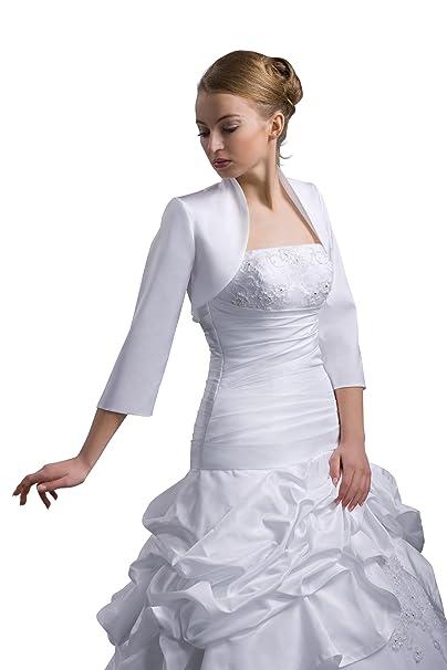 Nina Brautmoden - Vestido de Novia - Corte Imperio - Básico - Mujer Blanco 40