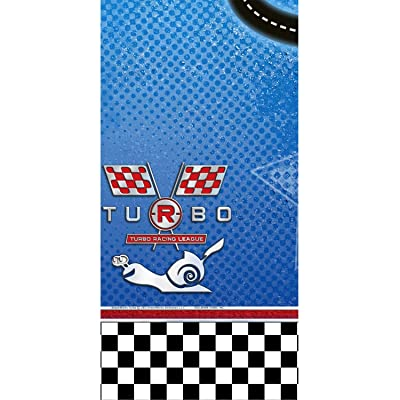 Turbo the Movie Party Table Cover - 1 piece: Toys & Games