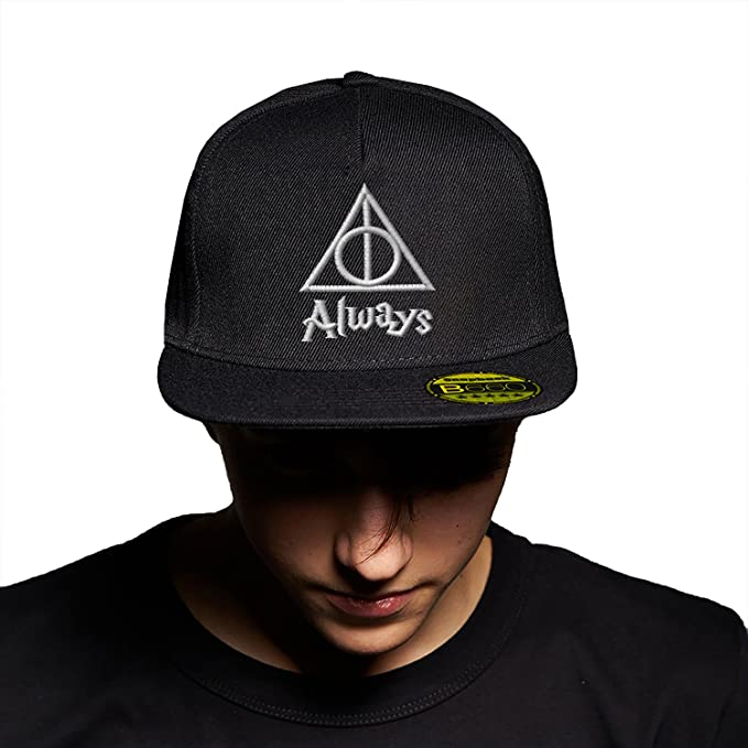 Always Triangle Harry Potter White Black Black Cap Original Gorra Snapback  Unisex 1326529ab31