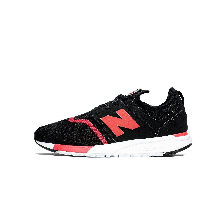 New Balance Herren 247 Classic Mesh Sneaker  45 EU| Schwarz / Rot