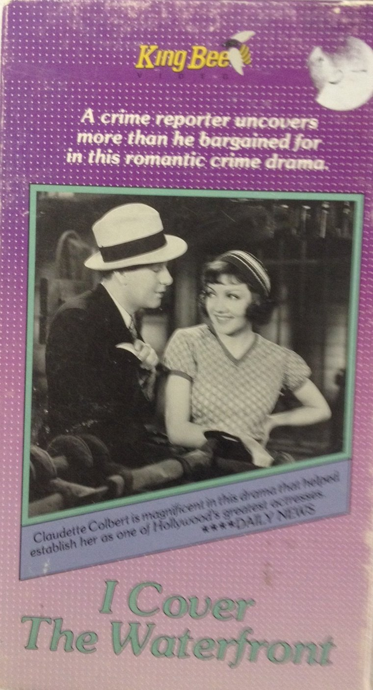 Amazon Com I Cover The Waterfront Vhs Claudette Colbert Movies Tv