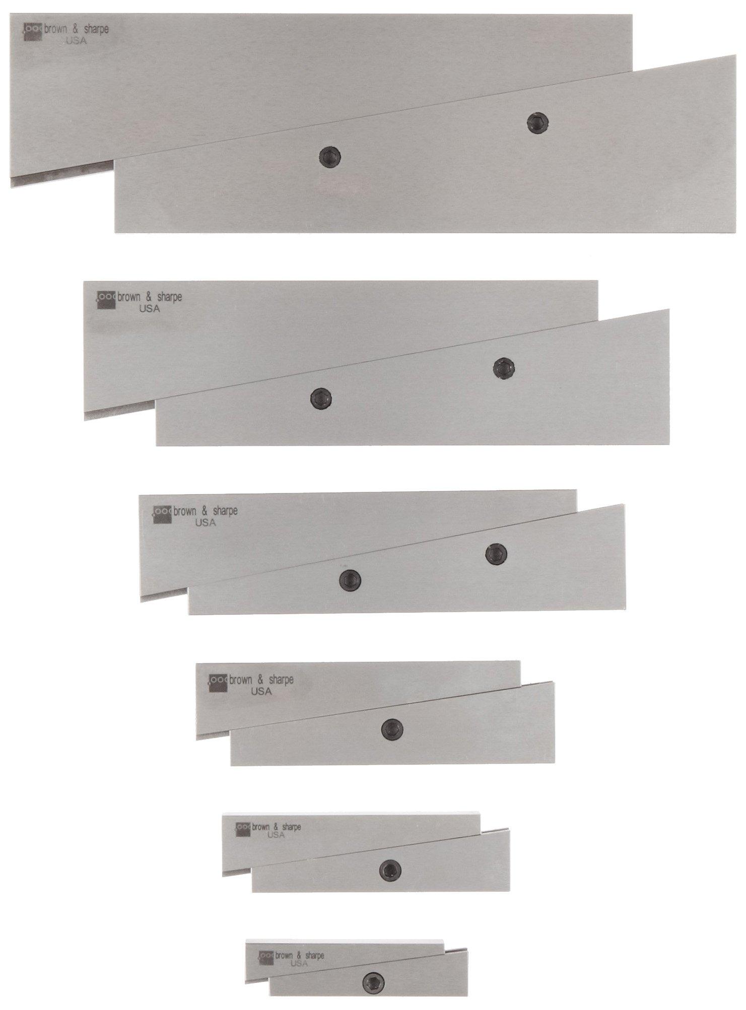 Brown & Sharpe 599-673-20 Adjustable Parallel Set