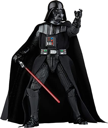 Amazon Com Star Wars The Black Series Darth Vader Toy 6 Inch Scale The Empire Strikes Back Collectible Action Figure Kids Ages 4 And Up Toys Games