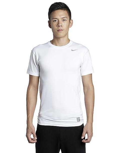 ad82460074e7 Amazon.com  Nike Pro Core Short Sleeve Tight Compression T-shirt - X ...