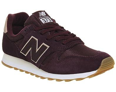 New Balance 373 Mujer Zapatillas Granate: Amazon.es: Zapatos y complementos