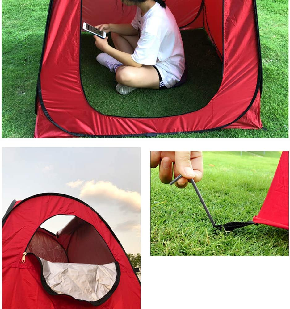 Caravan Picnic Fishing And Festivals Holidays Vinteky Portable Instant Pop Up Tent Outdoor Camping Toilet Dressing Shower Changing Tent /& Toilet Privacy Room For Camping Beach
