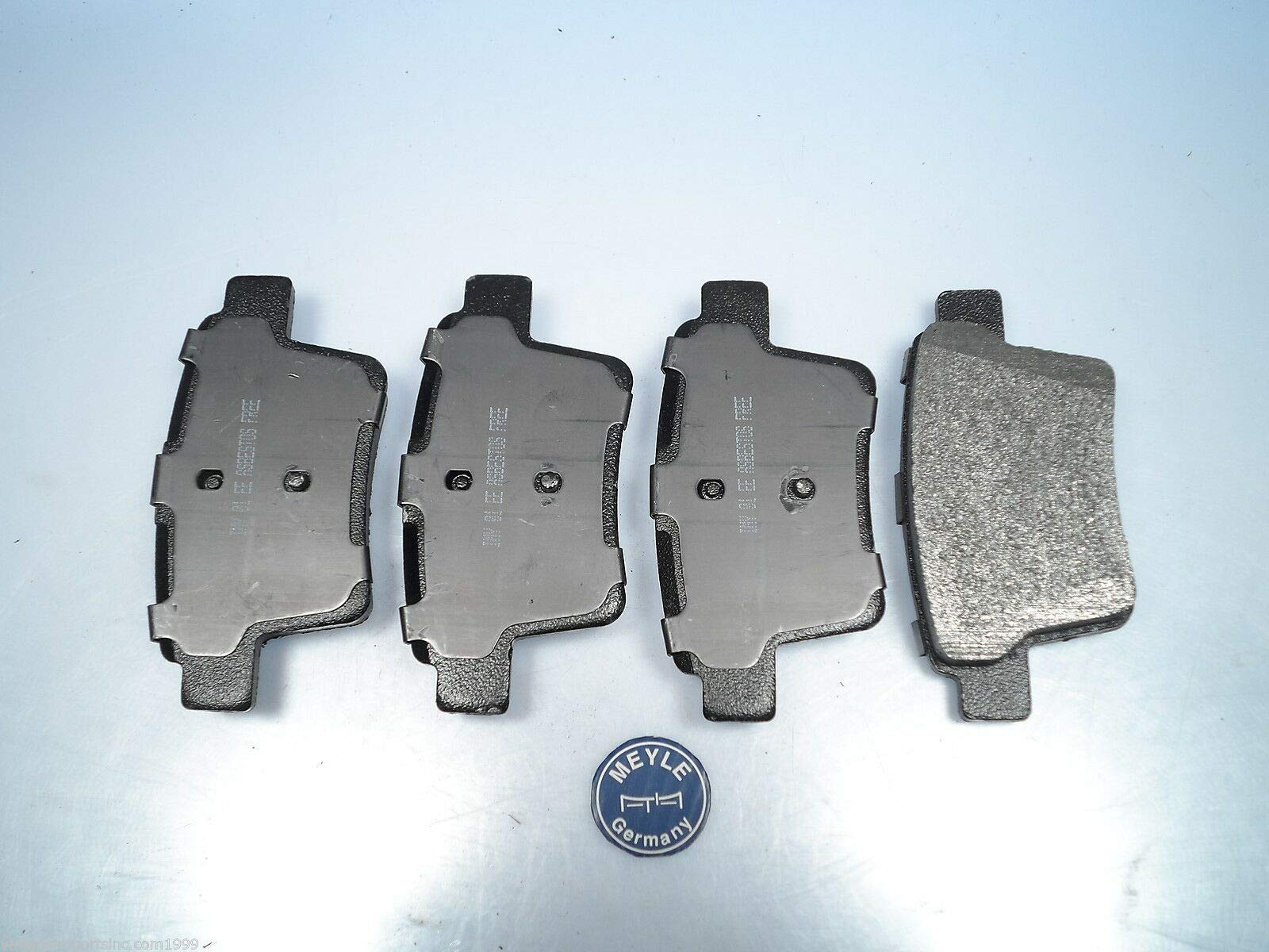 EPC Rear Brake Pad Set Fits Jaguar X-Type Meyle Brand Semi-Metallic D1071SM by EPC
