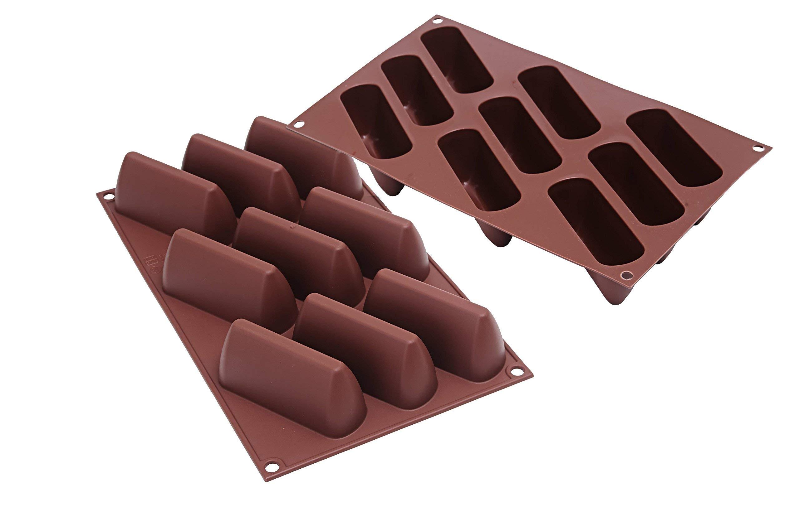 Silikomart Silicone Gianguia Easy Chocolate Mold, Large